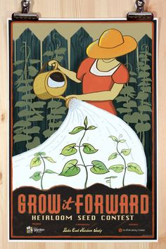 Grow it Forward  12x18 Official Poster by joeseppi on Etsy