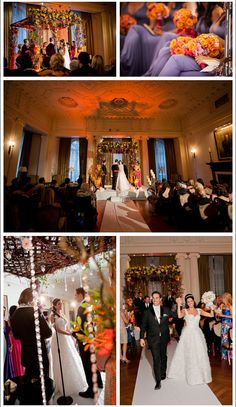 A Yale Club Wedding - Kimberly & Joshua.  By Diana Gould Ltd. Brett Matthews Photography.