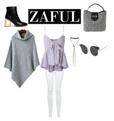 """Zaful"" by kitty16a ❤ liked on Polyvore featuring Miss Selfridge and Bølo"