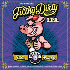 Filthy Dirty IPA Parallel 49 Brewing #BCCRAFTBEER