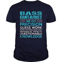 BASS GUITARIST T Shirts, Hoodies. Get it now ==► https://www.sunfrog.com/LifeStyle/BASS-GUITARIST-104763668-Navy-Blue-Guys.html?41382