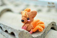 Vulpix pokemon by MissBajoCollection on Etsy, $20.00