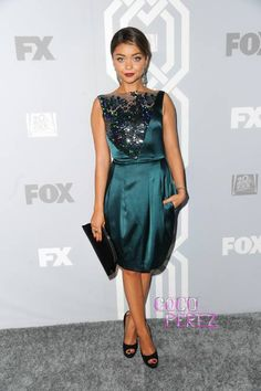 Sarah Hyland sparkles at Fox's Emmys after-party!