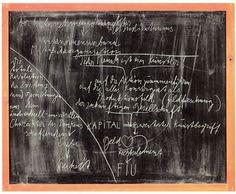 Joseph Beuys, Tafel II: Jeder Mensch ist ein Künstler (Board II: Everyone is an Artist) 1978 Chalk on blackboard 35 3/8 x 43 1/4 inches 90 x 110 cm 40 1/2 x 48 x 2 inches (framed) 102.9 x 121.9 x 5.1 cm