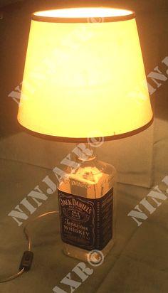 Lampada Bottiglia e L. Jack Daniel's
