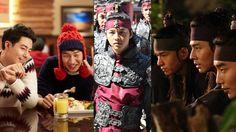 Song Joong Ki, Lee Kwang Soo, Im Joo Hwan and More Visit Zo In Sung on 'That Winter The Wind Blows' Set