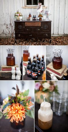 root beer float bar at your wedding