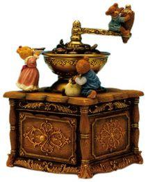 Spieluhrenwelt   Caja de música diseño molinillo de café de oferta