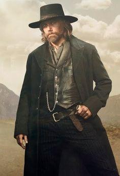 Hell on Wheels Tom Noonan #Cullen_Bohannan Cotton Black Coat