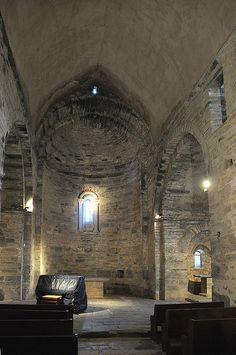 Priorat de Serrabona (Serrabone) Romanesque, Santa Maria, Languedoc Roussillon, France, Gothic, Htm, Wine, Romanesque Art, Goth