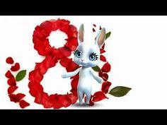 Zoobe Зайка 8 марта - Праздник у девчат! :-) - YouTube