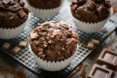 MUFFIN AL CIOCCOLATO | LuCake Cake Cookies, Cupcakes, American Cake, Muffins, Deserts, Breakfast, Sweet, Food, Latte
