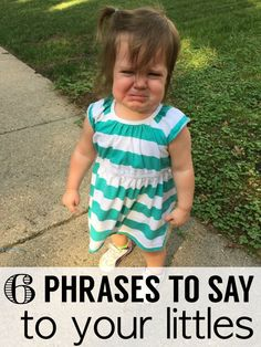 """This post is a continuation in my """"what to say to your toddler"""" series. Here are 3 more helpful phrases to be saying to your little ones regularly!"""