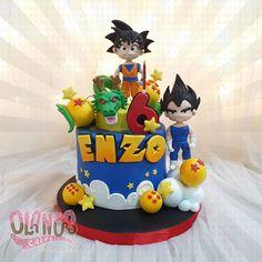 Goku Birthday, Birthday Bash, Birthday Party Themes, Baby Shower Gender Reveal, Baby Boy Shower, Tarta Dragon Ball, Dragonball Z Cake, Mario Y Luigi, Welcome To The Party