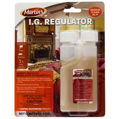 4 oz Martin's I.G. Regulator (IGR) Insect Growth Regulator Concentrate 1.3% Nylar ~ Effective Long-Term Control Of Fleas, Roaches, Flies, Mosquitoes, Gnats, Crickets, Litter Beetles and Ants ~~ Indoor and Outdoor Use Treats 6,000 SQ FT ** Click on the image for additional details.