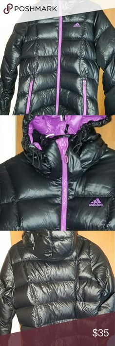 Adidas Womens Puffer Coat Excellent condition - tag reads large but I would say it fits most like a medium - no defects Adidas Jackets & Coats Puffers