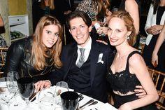 Princess Beatrice of York, Edgardo Osorio, and Lauren Santo Domingo