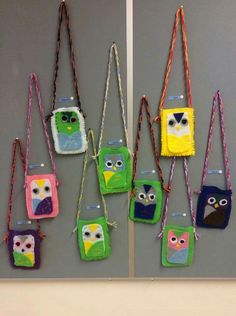 Crafts For Kids, Arts And Crafts, Textiles, Couture, Angry Birds, Art School, Elementary Schools, Christmas Ornaments, Sewing