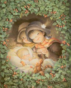 Alenquerensis: Natal com Juan Ferrandiz Castells (1918 - 1997) - Christmas with Juan Ferrandiz Castells ( 1918 - 1997)