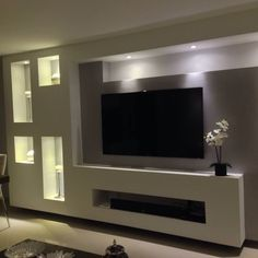family terrazafamily terrazaPara family terraza Wohnwand mit TV 50 Images Of Modern Floating Wall Theater Entertainment Design Ideas With Shelves - Bahay OFW Trending 149 Perfect TV Wall Ideas That Will not Sacrifice Your Look Tv Wall Design, Ceiling Design, House Design, Tv Wanddekor, Modern Tv Wall Units, Living Room Tv Unit Designs, Plafond Design, Tv Panel, Tv Wall Decor