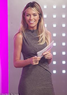 For some reason I just love this dress, so simple. Abbey Clancy