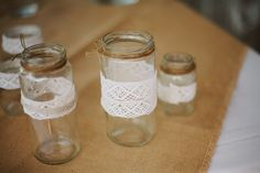 Diy for Wedding ideas glasses Vintage rustic