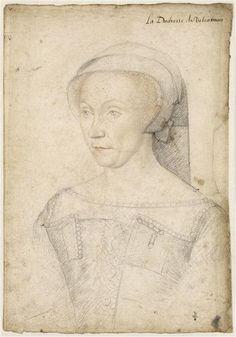 Diane de Poitiers, duchesse de Valentinois (1499-1566), 1555 ... Jean Clouet, (1475/1485-1540)