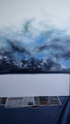 Fiona Tyler - First generation of rage oil on canvas 30 x 40
