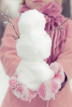 """To appreciate the beauty of a snow flake, it is necessary to stand out in the cold."" I love winter. I Love Snow, I Love Winter, Winter Fun, Winter Snow, Winter Season, Winter Colors, Hello Winter, Winter White, Pink Christmas"