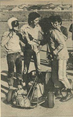 Ayrton Senna: Antes da F1MAIS FOTOS DE SENNA NO KART NOS ANOS 70 /