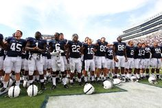PENN STATE – FOOTBALL 2013 – The Nittany Lions open their season at home with a win