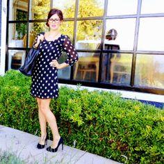 My heart dress fashion post at www.JillianHarris.com