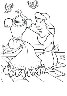 cinderella carriage coloring pages - Are you looking for a Cinderella coloring book? Right timing, because Cinderella coloring pictures are here. If you wish, there is a beautiful collect. Belle Coloring Pages, Cinderella Coloring Pages, Disney Princess Coloring Pages, Disney Princess Colors, Free Coloring Sheets, Disney Princess Drawings, Disney Colors, Cartoon Coloring Pages, Coloring Pages To Print