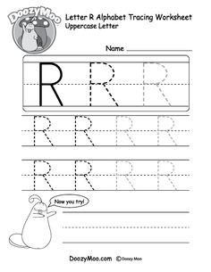 Alphabet Tracing Worksheets, Tracing Letters, Free Printable Worksheets, Kindergarten Worksheets, Free Printables, Alphabet Letters, Abc Worksheets, Alphabet Images, Handwriting Worksheets