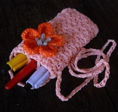 Ravelry: Back2School Pen Holder pattern by Moira Durano-Abesmo #YVSGEXPO2012 #Back2School