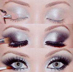 smokey eye beauty