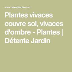Plantes vivaces couvre sol, vivaces d'ombre - Plantes | Détente Jardin