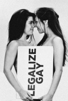 Legalize Gay It's about damn time! Lesbian Quotes, Lesbian Pride, My Kind Of Love, Same Love, Lgbt Love, Lesbian Love, Lgbt Rights, Equal Rights, I Kissed A Girl