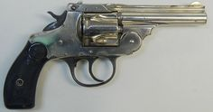 Smith & Wesson Top-Break .32 caliber revolver. Great 80% all serial numbers matching find at a flea market great deal for a Smith&Wesson revolver collector for a hundred bucks.