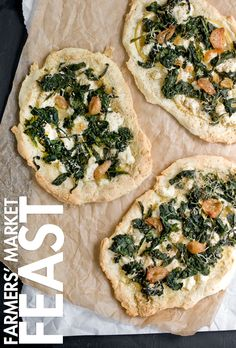 Gluten-Free Broccoli Rabe Pizza with Lemon and Ricotta