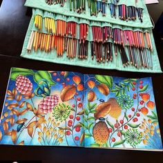 Book Millie Marotta color by my self Coloring Tips, Color Me Beautiful, Polychromos, Color Pencil Art, Coloring Book Pages, Colored Pencils, Inspiration, Soul Art, Instagram