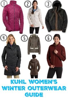 Stay warm in any condition with Kuhl Women's Winter Outerwear Guide.