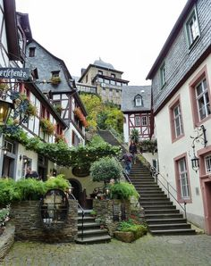 Charming small town of Beilstein in Rhineland-Palatinate, Germany