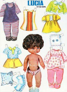 Ana Caldatto : Coleção Bonecas de Papel