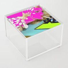 Smoragdova Tabletop | Society6 London Art, Art Day, Insta Art, Tabletop, Toy Chest, Pop Art, Saatchi Art, Collage, Behance