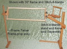Frame Tamer large scroll frame support at Stitch-R-Stuff and More