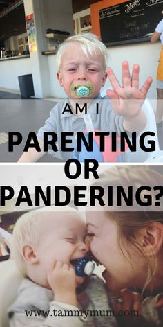 Am I parenting or pandering? I was told off for pandering to my daughter's immature and baby like demands. Was he right was I pandering too easily? Or was I simply parenting my child the way I know how? What do you think? #mumlife #momlife #parenting #preschoolers #toddlers #tantrums