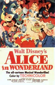 1951: Alice In Wonderland