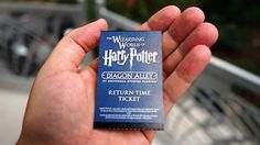 This is a complete, step-by-step guide to Universal Orlando's return ticket system and standby queue for Diagon Alley and Hogsmeade.