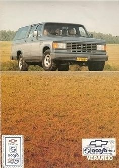 1990 Chevrolet Veraneio - Brasil